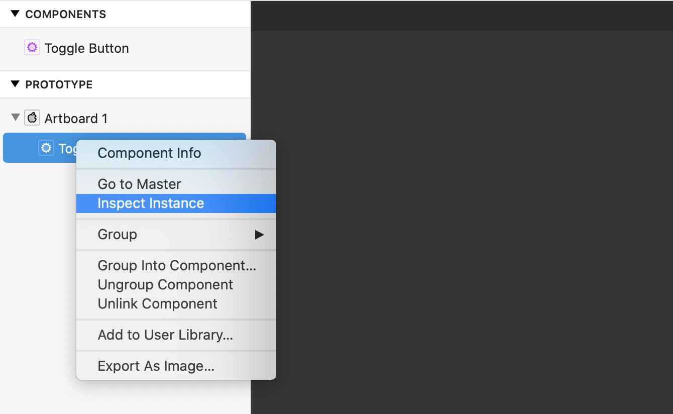 Alternatively select the Layer component and press Option + Down to enter and Option + Up to exit.