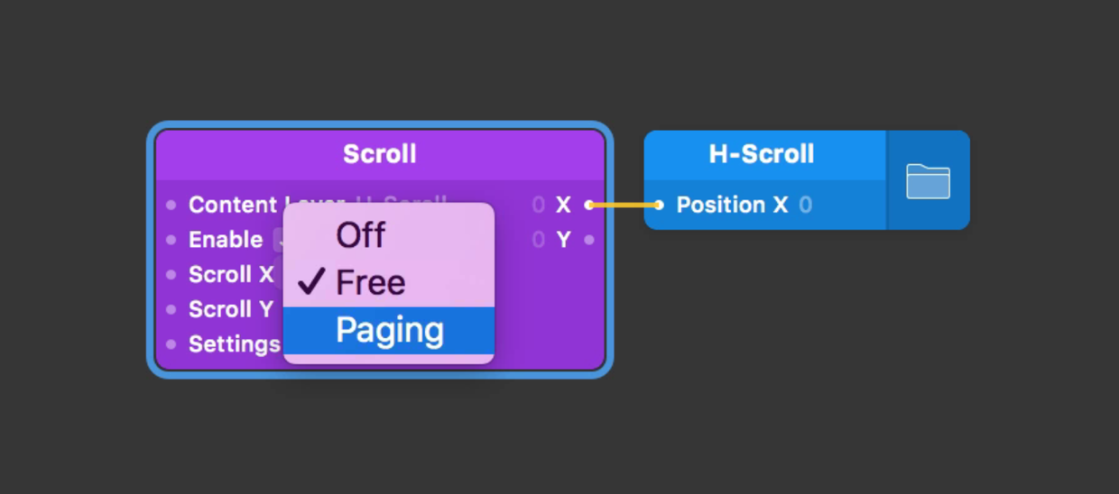 Paging is synonymous with carousel and horizontal-scrolling in this tutorial.