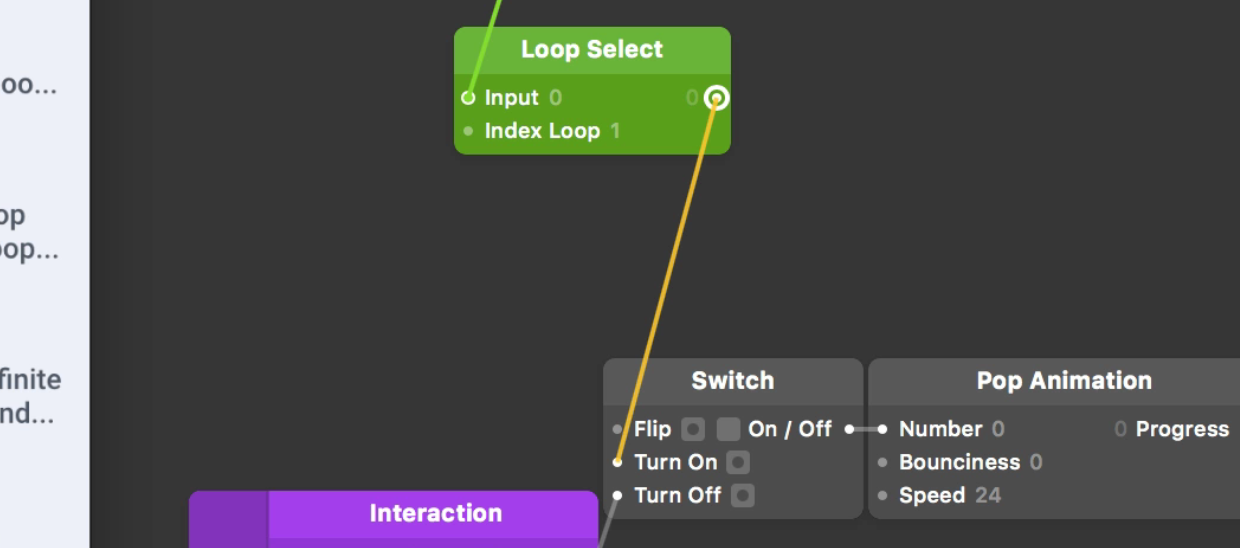 Make sure you connect to the Turn On input of the [Switch](../../documentation/patches/builtin.switch.html), not Flip.