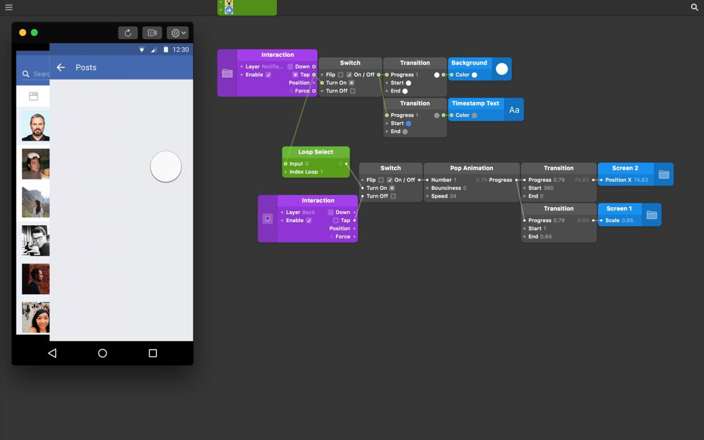 Origami Studio — Interactive Loops