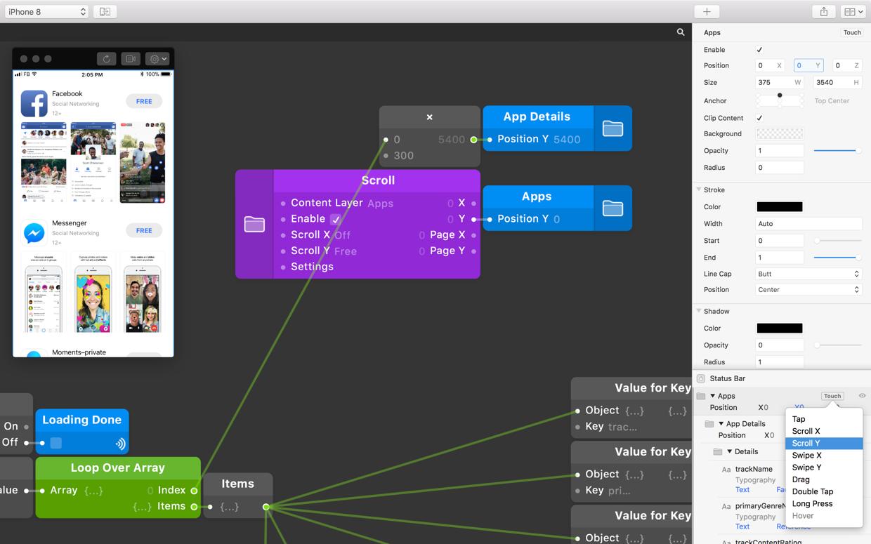 Origami Studio — Prototyping with Data